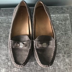 GH Bass & Co. Leather Suede Loafers